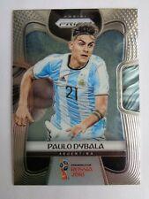 # 10 Paulo Dybala Rookie Rc card 2018 Panini Prizm World Cup WC  Argentina  Qty