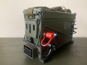Portable Power Station / jump Box / 40 MM Ammo Box / Ham Radio /Camping / 12 V