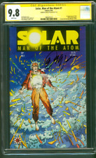 Solar Man of The Atom 1 CGC SS 9.8 Bob Layton Auto Barry Windsor Smith 1991