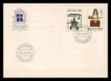 Iceland 1979 FDC, Europa CEPT XX. History Posts and Telecommunications. Lot # 7.