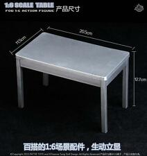 New 1:6 Scale Military Model Table for 12″ Action Figure Toys Desk Accessories