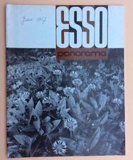 Magazine d'entreprise ESSO PANORAMA n°49 Juin 1967 Pétrole Oil Industry Revue