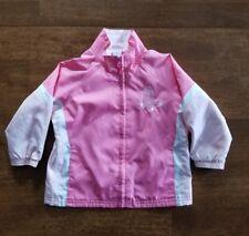Majestic Baby Girls MLB Boston Red Sox Baseball Jacket Size 18 Months Pink Lined
