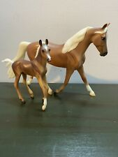 New ListingBreyer Model Horses Classic Lot Palomino Morgan Mare And Foal - See My Other Ads