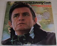 THE WORLD OF JOHNNY CASH 20 HITS GATEFOLD DOUBLE ALBUM 1970 COLUMBIA GP 29