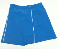 IZOD WOMENS XFG COOL FX GOLF SKIRT SKORT BLUE POLYESTER SIZE 4