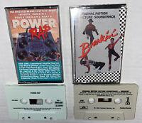 2 LOT RAP Cassettes Power Rap & Breakin' Sndtrk Chicago Bears RUN-DMC Fat Boys