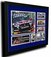 CRAIG LOWNDES HOLDEN V8 SUPERCARS SIGNED LIMITED EDITION FRAMED MEMORABILIA