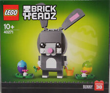 LEGO 40271 Brick Headz Osterhase Eier Blumen Korb Rübe Exclusiv RAR NEU Sealed