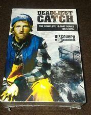 New Deadliest Catch - Season One 10 parts (DVD, 2007, 5-Disc Set) Freeshipping
