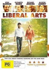 Liberal Arts (DVD, 2013) New & Sealed