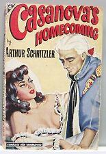 CASANOVA'S HOMECOMING by Arthur Schnitzler vintage pb 1948 gc