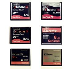 SanDisk Extreme 1GB 2GB 4GB 8GB 16GB 32GB CompactFlash SDCFX CF Card with Case