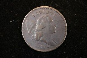 """1794 High Relief Half Cent C9 5b in almost Very Fine condition""""GREAT EYE APPEAL"""""""