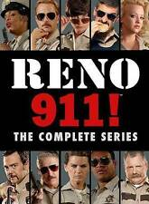 Reno 911 The Complete Series DVD 14-Disc Set 2014 Cops Necy Nash Kerri Kenney