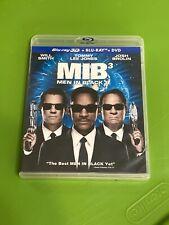 Men in Black 3 (3D/Blu-ray/Dvd, 2012, 3-Disc Set) No digital