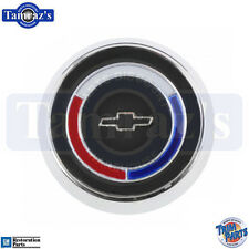 65-66 Corvette Telescopic Steering Wheel Horn Cap Button Emblem Assembly New