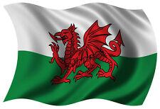 3ft x 2ft Wales Welsh St David 100D Red Dragon National Flag - Baner Cymreig