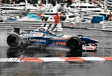 Heinz Harald Frentzen SIGNED 12x8 F1 Williams FW19 , Monaco GP 1997