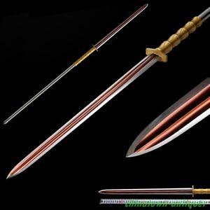 Boar Spear Overlord Pike Lance Sword Manganese Steel Sharp Battle ready #5385