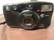 New ListingMinolta Freedom Zoom 70Ex Point & Shoot 35mm Film Camera Black Tested Works