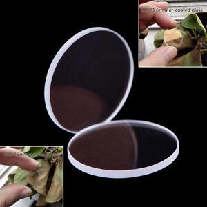für Convoy S2//S2+//S3//S6//S8 TaschenlampODDE 2X 20.5*1.6mm ar-beschichtetes Glas