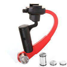 Red Mini Handheld Stabilizer Video Steadicam for Sport Action Camera