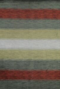 Striped Contemporary Gabbeh Oriental Area Rug Hand-knotted Wool 6x8 New Carpet