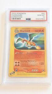 Pokemon 2002 Charizard Expedition #40 PSA10 Gem Mint