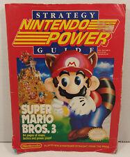 Super Mario Bros. 3 Nintendo Power Strategy Guide Vol. SG1/NP13 Good Condition