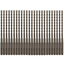 "25PCS SDS Plus 5/32"" X7"" Rotary Hammer Concrete Masonry Drill Bit Carbide Tip"