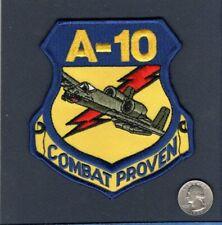 A-10 THUNDERBOLT II COMBAT PROVEN WARTHOG USAF Republic Squadron Jacket Patch