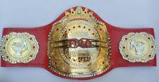 TNA Championship Belt Reppica 4mm Zinc Cowhide Leather