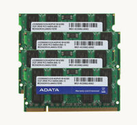 ADATA 8GB 4X 2GB DDR2 800Mh​z PC2-6400 Memory For Dell Latitude D530 D620 D630