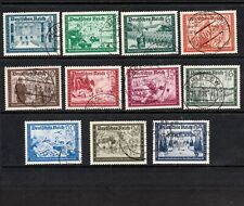 GERMANY 1938 SELECTION OF POSTAL WORKERS STAMPS VERY FINE USED (11)
