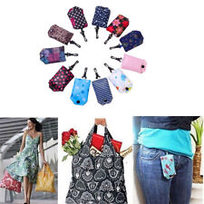 Eco Large Capacity Foldable Shopping Bag Reusable Tote Pouch Recycle Handbag
