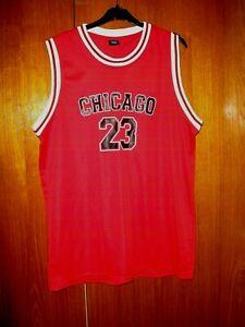 Sport Zone Chicago 23 Basketball Jersey Shirt size XL Ladies Women 38/40