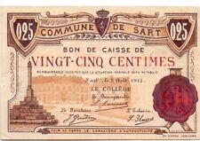 SART  25 centimes 1915