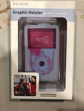 Belkin Graphic Holster For Ipod With Video F8Z113-GK