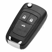 1Pc Car Remote Key Fob 3 Buttons 433MHz ID46 Chip HU100 Fit For 2009-15 Insignia