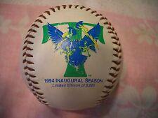 TRENTON THUNDER SOUVENIR BASEBALL, 1994 INAUGURAL SEASON, EX, WOW!! L@@K!!!