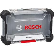 Bosch Professional Leere Box M, Leerer Koffer, Impact Kassette für Bits & Bohrer