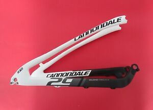 "*REAR TRIANGLE ONLY* CANNONDALE SCALPEL 29"" FRAME WHITE BLACK NEW   2WVP9CSW/BBQ"