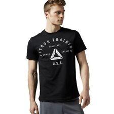 Camiseta de deporte de hombre 100% algodón