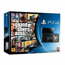 Sony PlayStation 4 Grand Theft Auto 5 Bundle Very Good 0Z