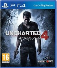 Uncharted 4  A Thief's End PS4 Game NEW UK PAL for Sony Playstation 4 IV Thief