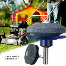 Universal Lawnmower Blade Sharpener Lawn Mower Sharpener for Power Hand Drill