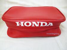 Honda XR 250 XR250 XR250R 86-95 XR600 XR600R 86-00 XR650l Rear Fender Bag Red