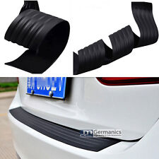Car Trunk Bumper Rubber Guard Body Protector Trim Cover Protective Strip Black