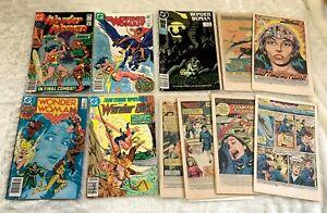 Wonder Woman Comic lot:  18, 278, 299, 323,  Wonder Girl #12, and more
